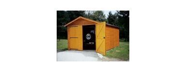 Garage voiture en bois