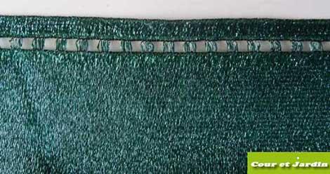 filet brise vue 2m pour jardin vert occultant livraison. Black Bedroom Furniture Sets. Home Design Ideas